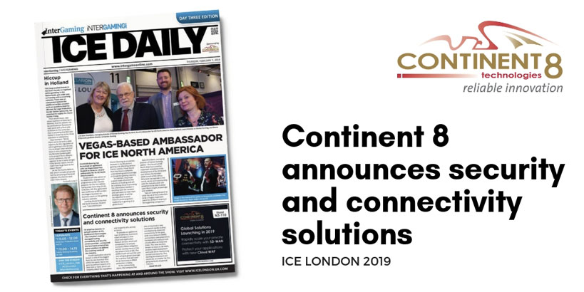 Continent 8 ICE Daily Security and Connectivity Solutions